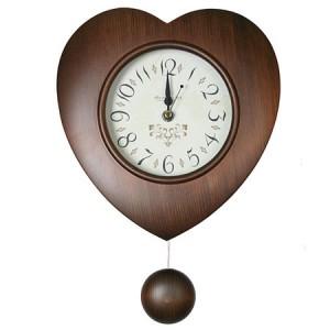 원목하트sn11(소) 원목추벽시계