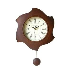고품격통나무원목추벽시계sn15(대)