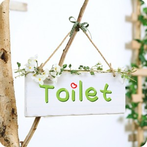 Toilet (신형) 화장실문패, 이니셜문패,인테리어문패