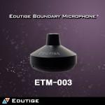 ETM-003 (일체형3M)etm003 에듀티지마이크장착 + 특수쉴드케이블 에듀티지핀마이크 화상채팅 음성채팅 고성능외장마이크 노트