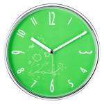 크롬벽시계(25파이) JS-1071