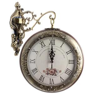 로질라 S4000 양면시계 [장미]