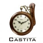 쿠페아 월넛 원목 양면시계