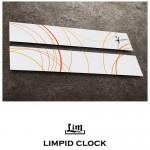 림피드와이드벽시계[RHW011] - 시계+스틱