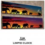 림피드와이드벽시계[RHW003] - 시계+스틱