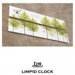 림피드와이드벽시계[CH-043] - 시계+스틱