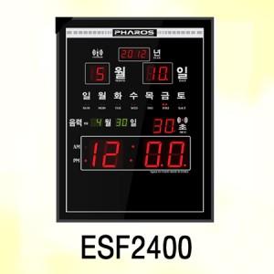ESF2400/시간자동보정,카렌다,음력표시