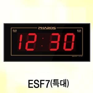 ESF7/시간자동보정,강당,체육관,세미나실 대형시계대형강당 전자벽시계, 대형체육관 전자벽시계, 331㎡이상