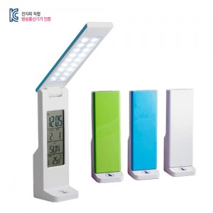 [INNOZEN-274] 2단 접이식 USB LED스탠드 디지털시계