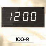 100-R/ 인테리어용 대형전자시계,강당,체육관