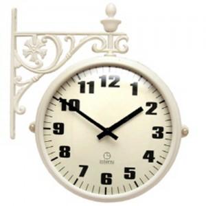 인테리어 그랜드 무소음 양면시계[A타입/B타입 선택가능]-23cm