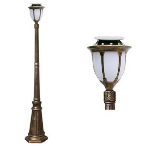 LED 태양광 정원등 [문주잔디등 4713중형-2M (1등) 선택-1와트/2와트]