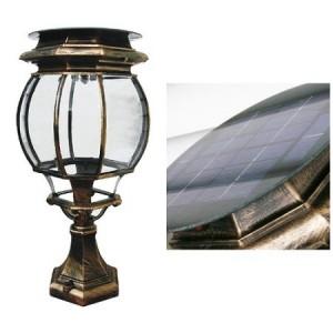 4907 LED 태양광 정원등 [문주등 -대형]