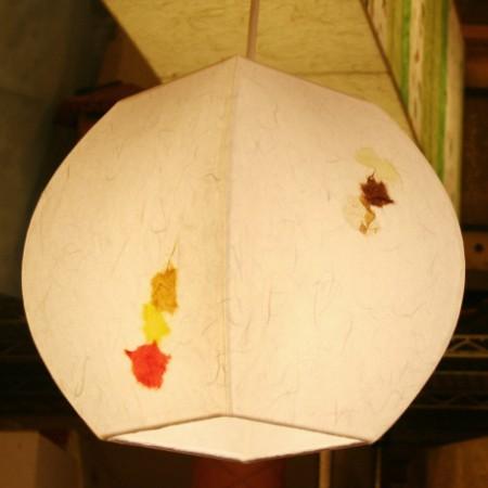 특가 [한지등] 단지팬던트[하양실지민속무늬]-대각선 사이즈