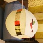 특가 [한지등] 단지팬던트[미색운용세로조각]-대각선 사이즈조각팬던트,한지팬던트,한지조명,음식점조명,음식점인테리어,포인트조명,고급한지조명,고급조명제작,예쁜조
