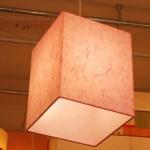 특가 [한지등] 사각2호팬던트[분홍운용한지]한의원,분홍전등/분홍팬던트/분홍한지/분홍/전등갓/한지/전등갓/엔틱/인테리어/소품/장식용/갓/고급전등쇼