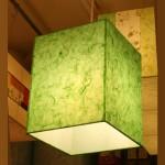 특가 [한지등] 사각2호팬던트[녹색한지]녹색,녹색조명,한지조명,고급한지조명,고급조명등제작,포인트조명,이쁜조명,포인트등판매,인테리어등,고급