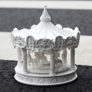 Merry-go-round X CLOCK (회전목마 탁상시계)