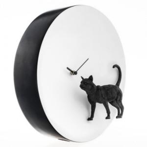 Moon X CLOCK - Cat (고양이 벽시계)