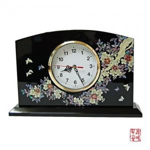 꽃과나비 나전시계