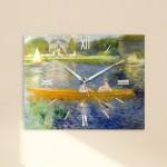 르느와르 - 세느강아스니에르 (명화 인테리어시계)