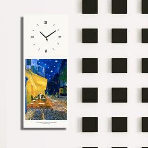 고흐 - 밤의카페테라스 (명화 인테리어시계)
