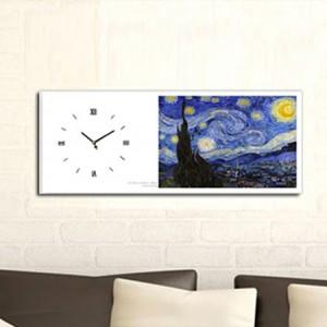 고흐 - 별이빛나는밤 (명화 인테리어시계)