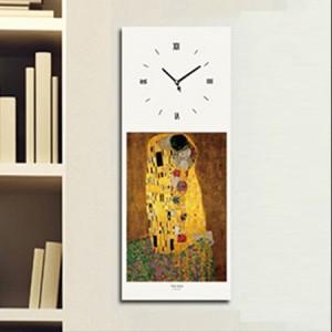 클림프 - 키스 (명화 인테리어시계)