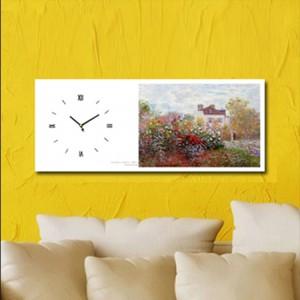 모네 - 화가정원 (명화 인테리어시계)