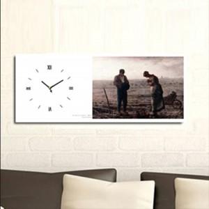 만종 - 밀레 (명화 인테리어시계)
