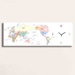 세계지도시계 (모던/빈티지 인테리어시계)