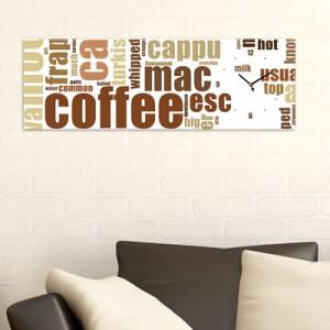 커피타이포 (모던/빈티지 인테리어시계)