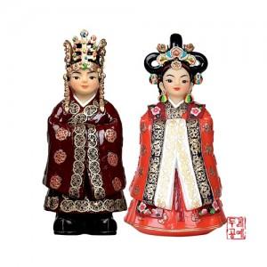 인형 set 대[신라왕,왕비]가격:40,000원