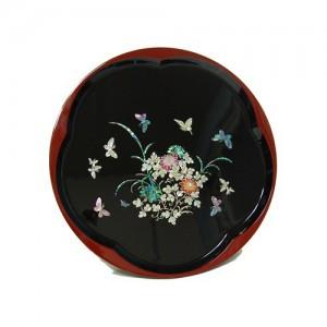 꽃나비 화문원형 쟁반가격:70,000원