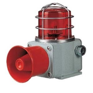 SHD 신호음 내장 선박, 중부하용 전구반사경회전 경고등신호음 내장 선박 경고등, 중부하용 경고등, 선박용, 자립형 신호음, 일체형, 크레인, 선박기계, 철강산업