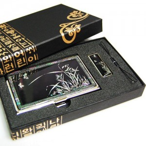 나전 USB 2종세트(난초)가격:50,000원