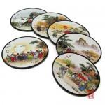 풍속화 컵받침2 - 6종