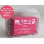 비닐팩 맛담 복분자소금300g