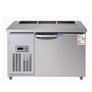 우성 찬밧드(테이블)냉장고 WS-120RBT(아날로그) 냉장용