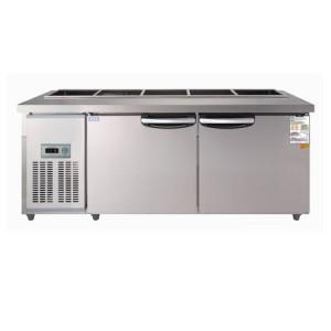우성 찬밧드(테이블)냉장고 CWS-180RBT(아날로그) 냉장용.사이즈 1800*700*800