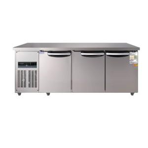 우성 보냉테이블냉장고 6자 CWSM-180RT(디지털)3DOOR 냉장용