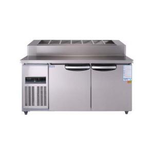 우성 토핑 테이블 CWSM-150RBT(15) 5자 (디지털)밧드:150 냉장용