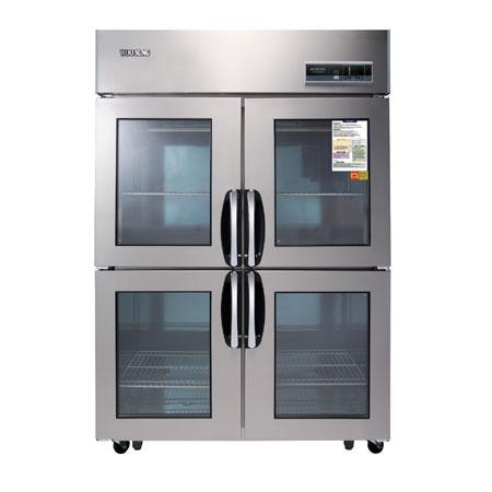 우성 글라스냉장고(디지털) WSM-1244DR(4G) 냉장용