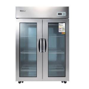 우성 글라스냉장고(아날로그) CWS-1244DR(2G) 올냉장