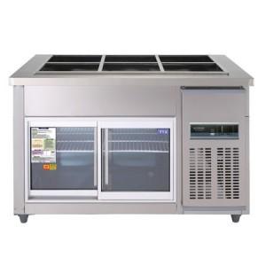 우성 찬밧드글라스냉장고 CWSM-120RB(G)(디지털) 냉장용