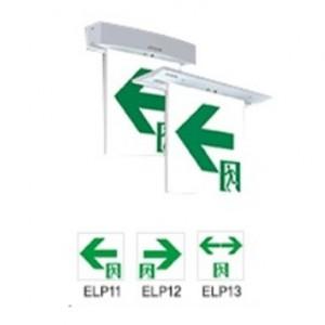 천장 직부/매입 거실통로 중형 유도등 /양면형