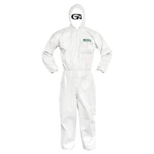PP 흰색 원피스 보호복 24PCS