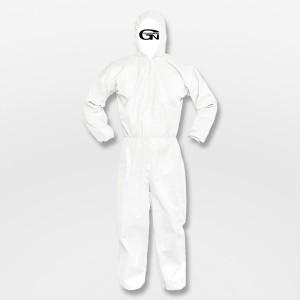 CS 흰색 원피스 보호복 24PCS