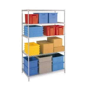 Wire Shelving Chrome plated 도금 위생선반 455mm