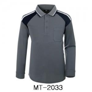 MT-2033 그레이 네이비 2톤 쿨론긴팔
